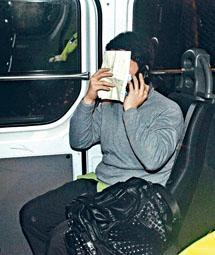 ■肇事巴士車長被捕帶署。