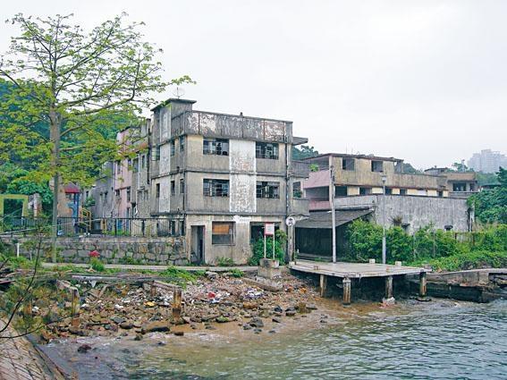 馬灣本來是恬靜的小漁村。
