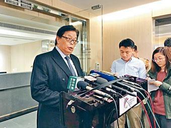 ■王桂壎昨公布辭任通訊局主席。