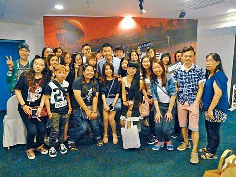 沈震軒在吉隆坡原來有不少的粉絲。