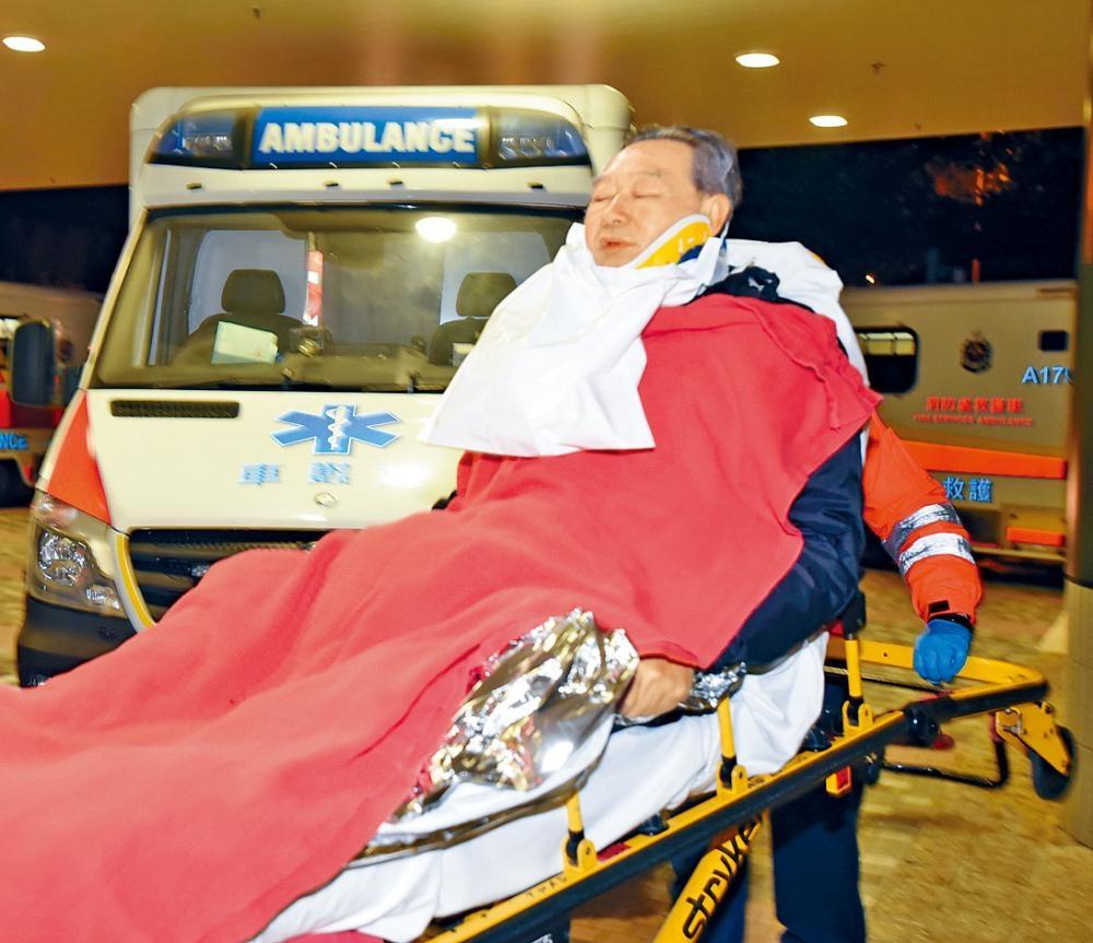 巴士大車禍男傷者陳國祥當日送院救治。