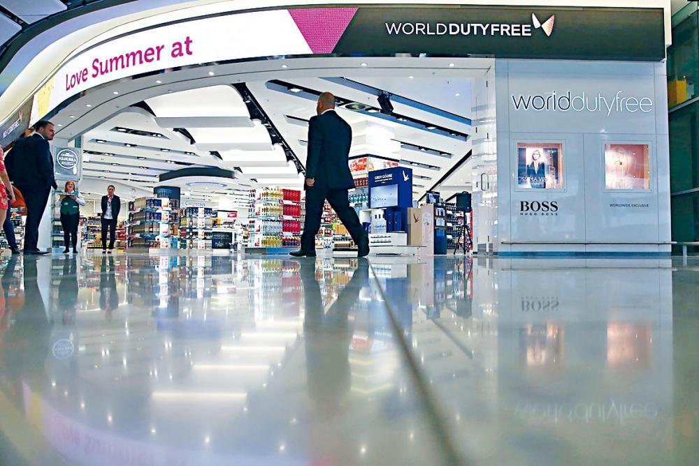 英國希斯路機場免稅店被爆專「宰」中國客。