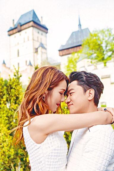 祖藍與李亞男情人節當日結婚三周年。