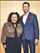 曉治積曼昨日與Keala於東京出席記招,宣傳《大娛樂家》。