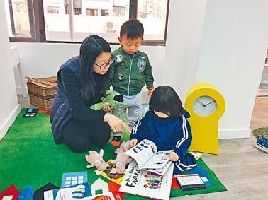 莫萊茵創辦奇妙故事國際幼兒園,教師每天都會向學生說故事。