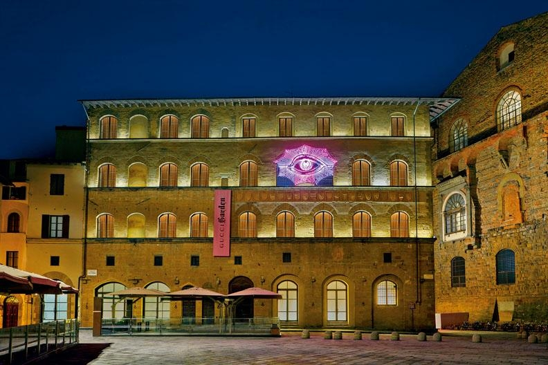 Gucci Garden展覽選址意大利佛羅倫斯的古蹟Palazzo della Mercanzia內舉行。