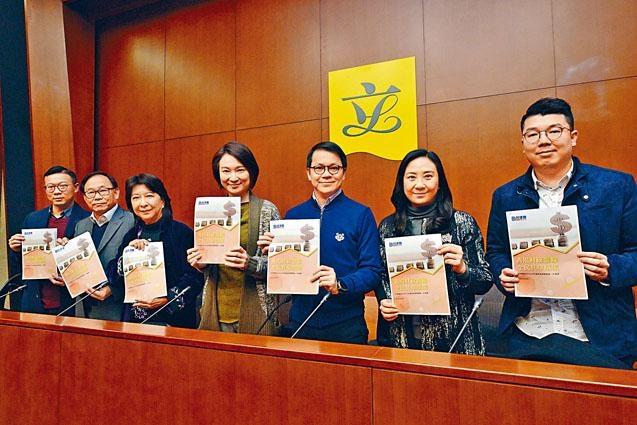 民建聯立會議員昨與財政司司長陳茂波會面,就《財政預算案》提出三十五項補充建議。