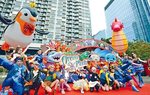 花車巡遊將會出動「威威獅令」及一眾成員和市民拜年。