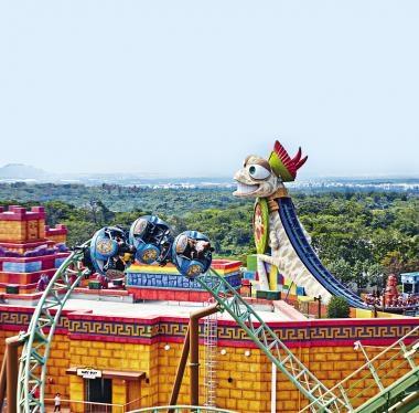 韓國爆紅遊點 濟州神話世界