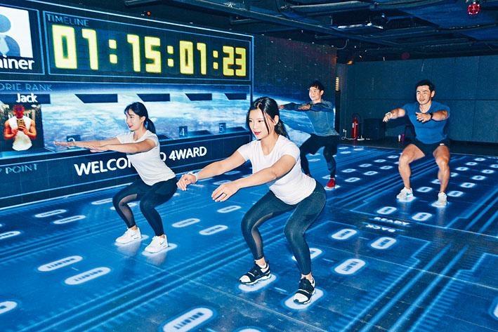 ●HOLOFIT的MMT訓練模式,能降低運動受傷風險。
