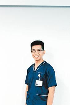 養和醫院物理治療師陳家銘。