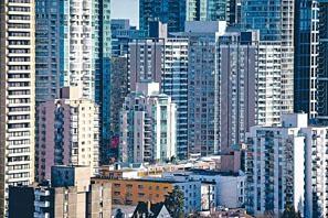 溫哥華的高樓。