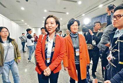 陳家珮對未能贏得議席感到失望,但滿意得票數字。