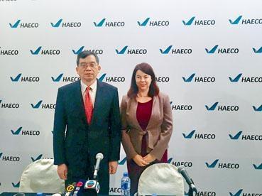 鄧健榮透露,去年飛機維修服務增聘了250人。