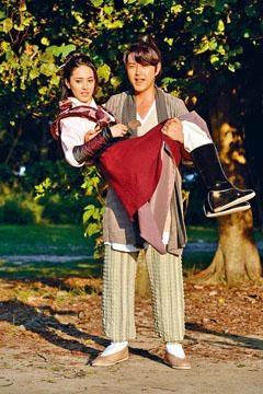 蕭正楠與陳凱琳合作的《翻生武林》,不少場面都是在南生圍取景。