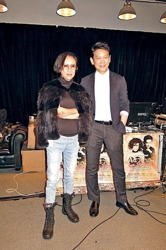 呂珊「處女下海」,孖楊立門開英文歌演唱會。