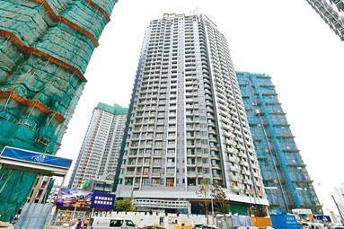 嘉匯低層連平台戶,以呎價27096元易手,創啟德區1房戶新高。