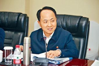 王志民昨天在香港團發言。