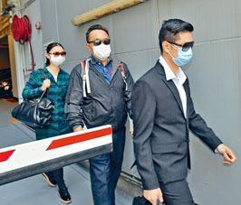 三名被告(左起)李軒賴、伍肇龍及鄧文祖。