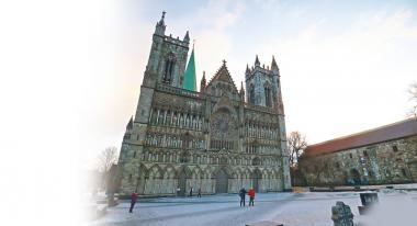 挪威Trondheim  極美教堂