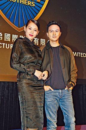 在新片《暗黑者》中,胡杏兒是張智霖女友。