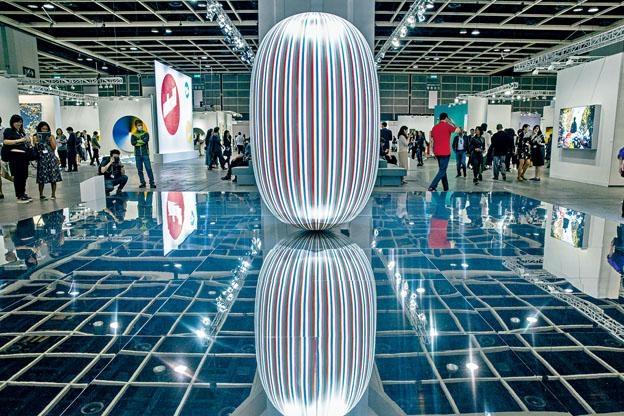 《巴塞爾藝術展香港展會》去年吸引近八萬人次參觀。
