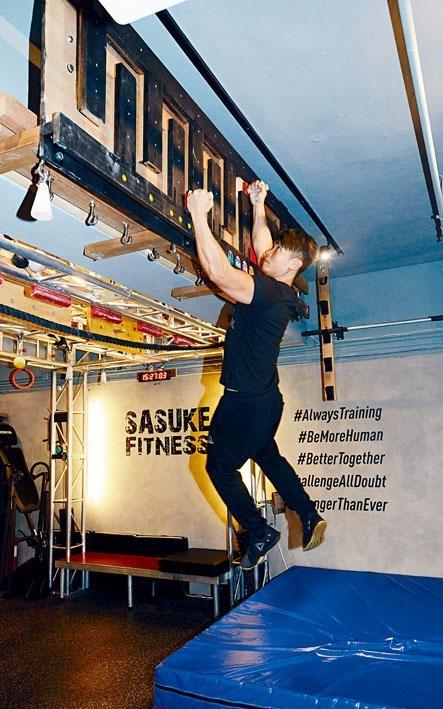 ●Sasuke Challenge有助訓練參加者的臂力、指力、肩膊及胸背的肌耐力。