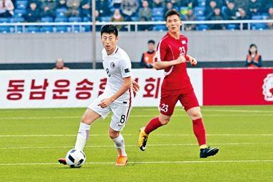 徐德帅表现卖力,可惜港足仍吞两蛋。