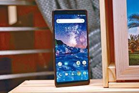 Nokia 7 Plus為同廠首款全熒幕手機,配備18:9的6吋FHD+芒。