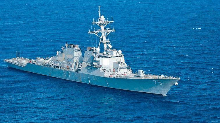美軍驅逐艦「唐納德·庫克號」據報已抵達敍利亞附近的海域。