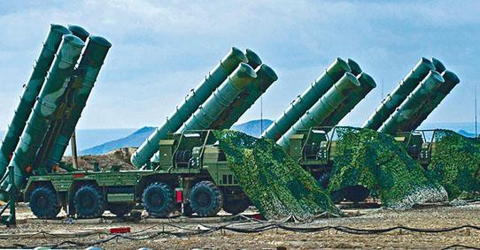 俄羅斯在敍利亞部署S-400防空導彈系統。