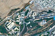 大馬士革東北部科研中心遇襲前圖片。