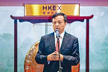 港交所行政總裁李小加一直積極吸納更多企業來港上市。