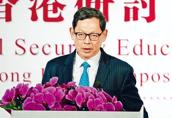 陳德霖昨指金管局通過不斷強化自身金融系統的抗震能力,才可確保系統安全。
