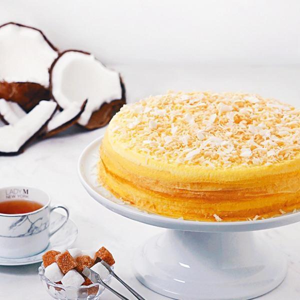 熱帶風情椰子蛋糕