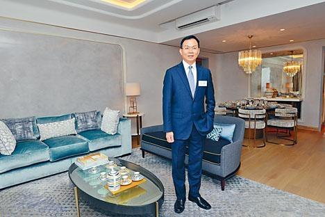 鍾志霖表示,澐瀚推出3伙單位招標。