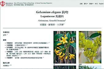■醫管局近日推出電子版有毒植物圖鑑。