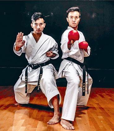 ■空手道精英運動員鄭子文(左)和李振豪(右)亦批評改善方案無助解決問題。