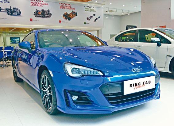 新版BRZ水平四缸2公升引擎,馬力200ps。