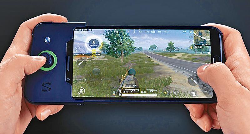 遊戲手機出位新形象