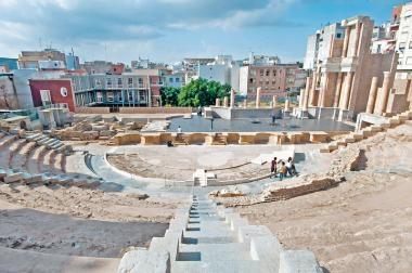 西班牙卡塔赫納  古羅馬遺
