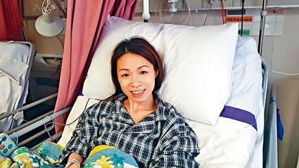 ■勇敢截肢母親杜穎楠積極面對治療,出事以來從未流過一滴淚。