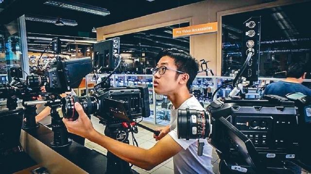 ■Jasen現年十六歲,早前自學攝錄技術,已製作不少影片,其中一套微電影更獲得創作大賽金獎。