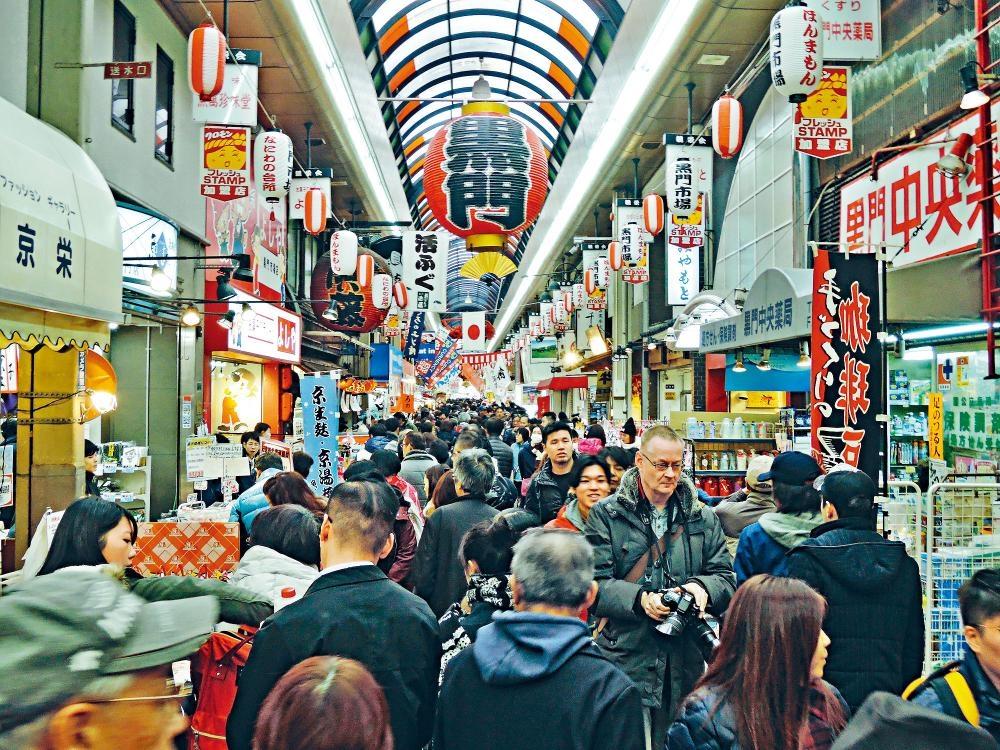 黑門市場已有超過一百七十年歷史。