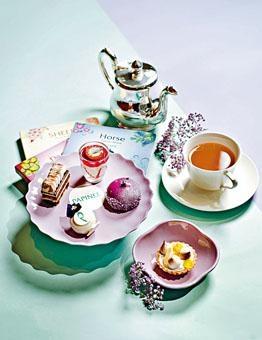 ●餐廳以駿馬的遊歷故事為靈感,創作多款法式下午茶甜品。