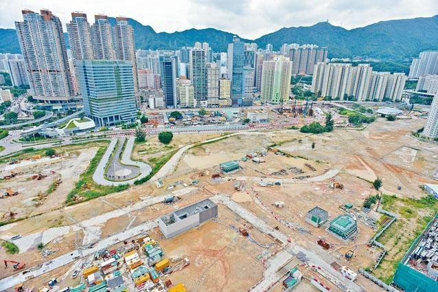 啟德住宅地批出,由新地以逾二百五十一億元投得,成為全港最貴地皮。