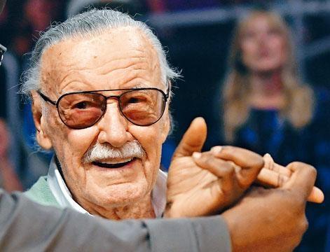 Stan Lee入稟告舊拍檔盜用名字及肖像權,要求賠償10億美元。