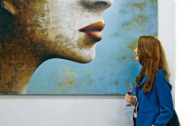 《Affordable Art Fair》聚集不少新進藝術家,散發新鮮感。