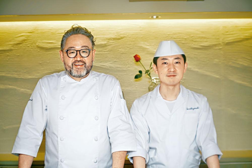 貴為米芝蓮二星名廚的Chef Hiroki與Chef Sugarwara合作打理香港店業務。