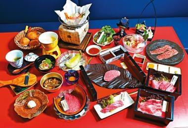 上品和食 飛驒牛燒肉